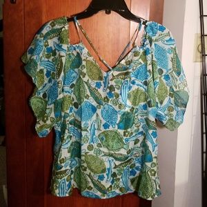 Anthropologie brand top NEW!!